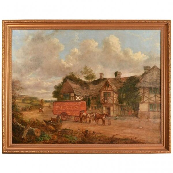 Antique English Painting by John Charles Maggs c.1860 | Ref. no. 02087 | Regent Antiques