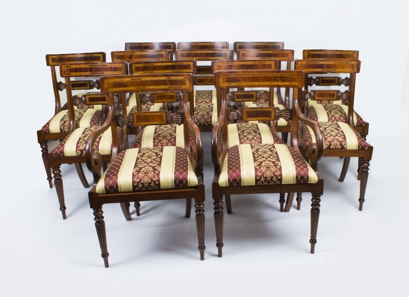 Set of 14 Regency Dining Chairs | | Ref. no. 02179 | Regent Antiques