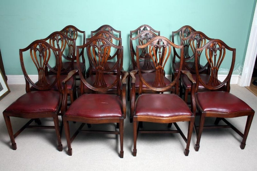 10   2 Antique Hepplewhite Dining Chairs c 1900. Different Types Of Antique Dining Chairs. Home Design Ideas