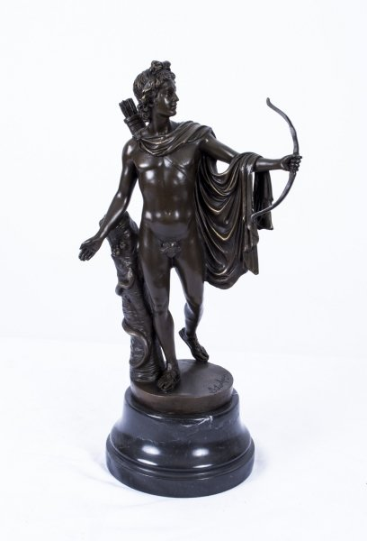 Bronze Sculpture Eros | Bronze Cupid Statue | Ref. no. 02907 | Regent Antiques