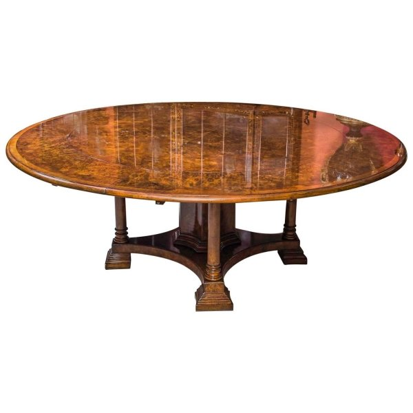 Jupe Dining Table Burr Ref No 03135 Regent Antiques