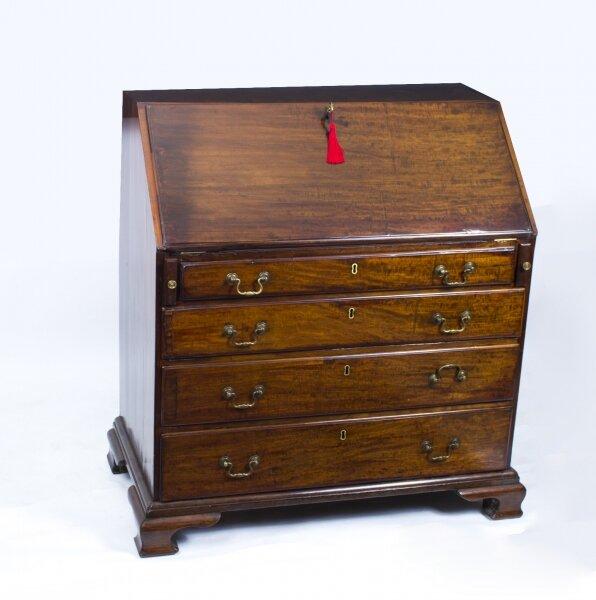 antique bureau antique george iii bureau ref no 03767. Black Bedroom Furniture Sets. Home Design Ideas