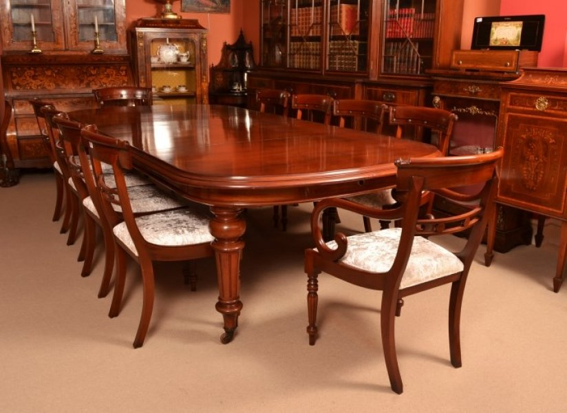 Canterbury Dining Table Amp Mahogany Dining Chairs Canberra ...