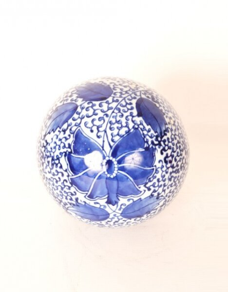 Vintage Blue & White Chinese Porcelain Ball | Ref. no. 05587 | Regent Antiques