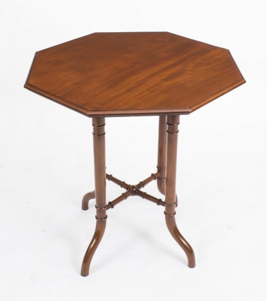 Antique Victorian Mahogany Octagonal Occasional Table c.1860 | Ref. no. 05650 | Regent Antiques