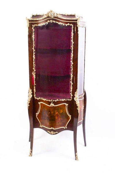 Antique French Vernis Martin Display Cabinet c.1900 | Ref. no. 05690 | Regent Antiques