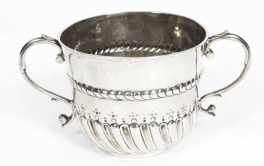 Antique William and Mary Silver Porringer | Antique Silver Porringer | Ref. no. 05803 | Regent Antiques