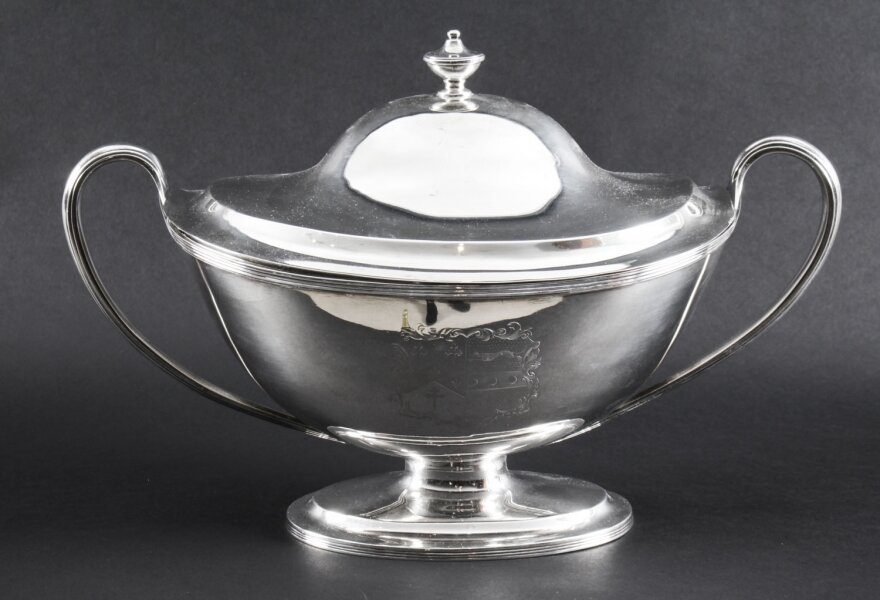Antique Silver George III Tureen | Ref. no. 06397 | Regent Antiques
