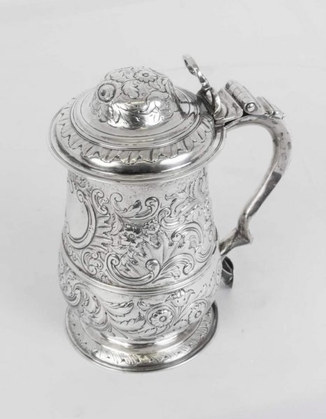 Antique George III Silver Tankard | Antique Silver Tankard | Ref. no. 06400 | Regent Antiques