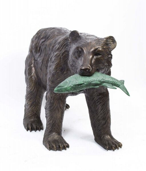 Grizzly Bear Bronze Sculpture | Ref. no. 06792 | Regent Antiques