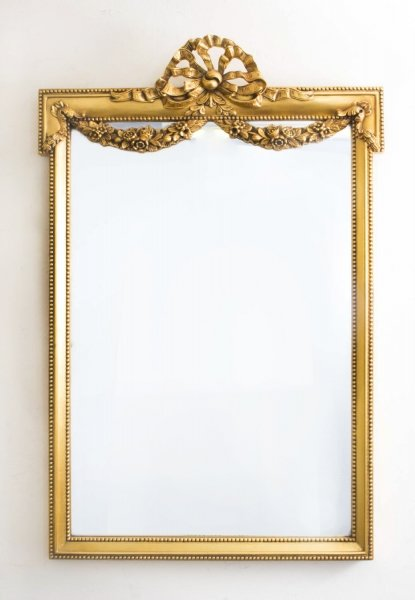 Magnificent Ornate French Carved Giltwood Mirror 123 x 81 cm | Ref. no. 06828 | Regent Antiques