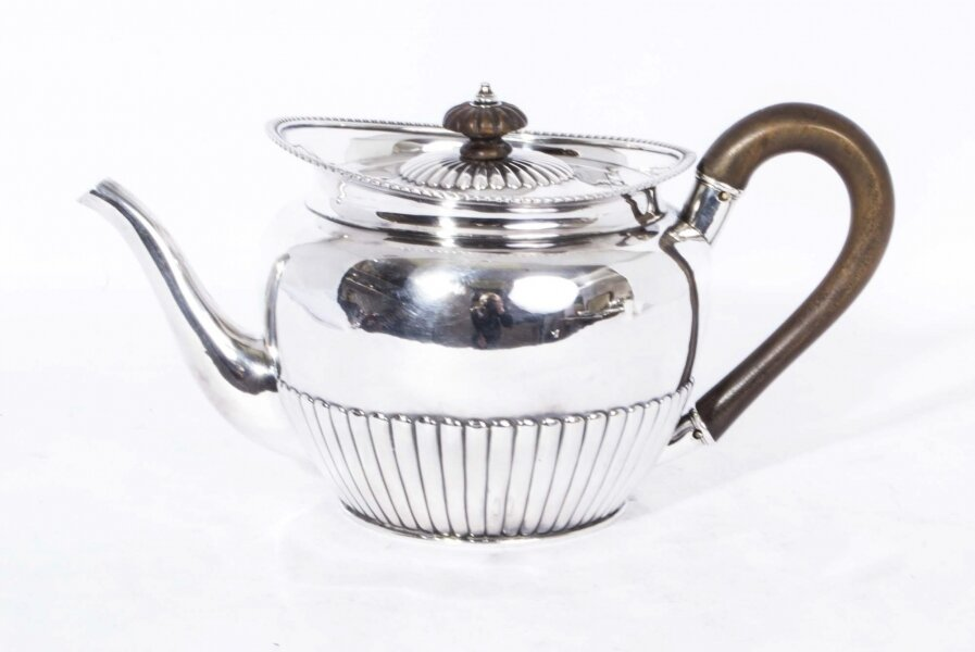 Paul Storr | Antique Sterling Silver Teapot | Antique Silver | Ref. no. 06872 | Regent Antiques