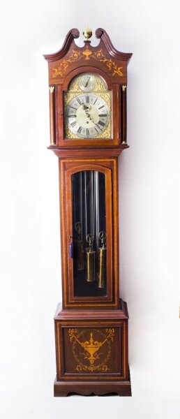 Antique English 5 Tube Musical Longcase Clock c.1900 | Ref. no. 07219 | Regent Antiques