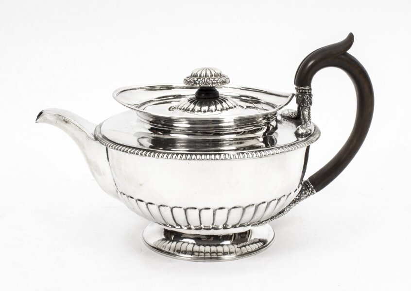 Paul Storr | Silver Teapot | Antique Silver | George III Silver | Ref. no. 07818 | Regent Antiques