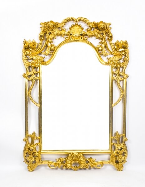 Beautiful Decorative Luis Revival Carved Giltwood Mirror 163 x 113 cm | Ref. no. 07892 | Regent Antiques