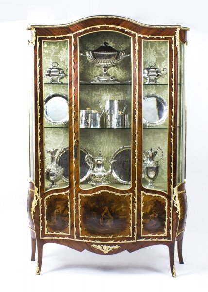 Antique French Large Vernis Martin Display Cabinet C1880 | Ref. no. 07971 | Regent Antiques