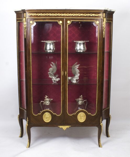 Antique French Mahogany Louis Revival Display Cabinet c.1880 | Ref. no. 07992 | Regent Antiques
