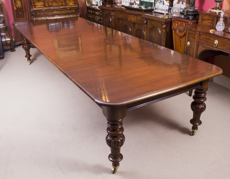 Superieur Antique Dining Table | Antique Victorian Dining Table | Ref. No. 08328 |  Regent