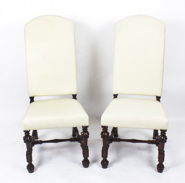 Upholstered dining chairs | Ref. no. 08437b | Regent Antiques