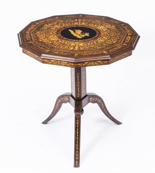 Antique Italian Sorrento Tilt Top Occasional Table c.1830 | Ref. no. 08454 | Regent Antiques