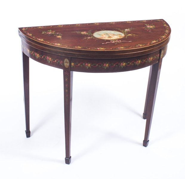 Antique George III Painted Card Console  Tea Table C1800 | Ref. no. 08576 | Regent Antiques