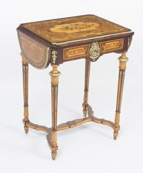Antique French Napoleon III Revival Poudreuse Writing Table c.1860 | Ref. no. 08648 | Regent Antiques