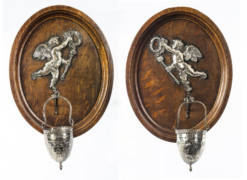 Antique Pair French Holy Water Stoops 19th Century | Ref. no. 08986 | Regent Antiques