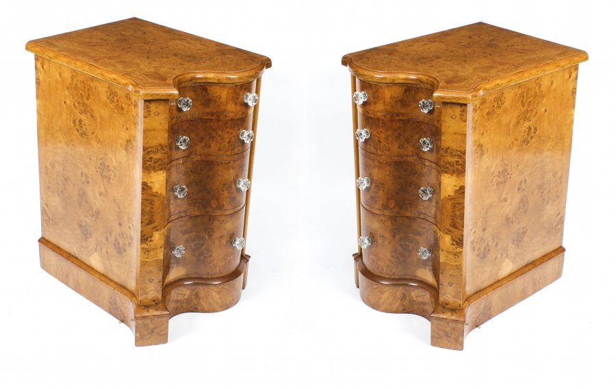 Antique Victorian Pair Pollard Oak Bedside Chests Cabinets 19th Century | Ref. no. 09119 | Regent Antiques