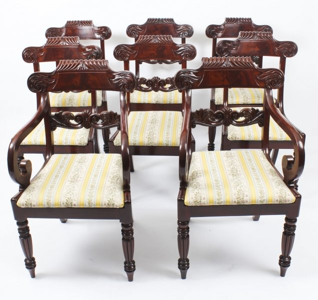 Gillows dining chairs | Ref. no. 09164 | Regent Antiques
