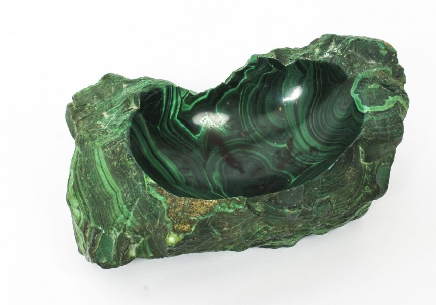 Antique Solid Malachite Trinket Dish 20th Century | Ref. no. 09199 | Regent Antiques