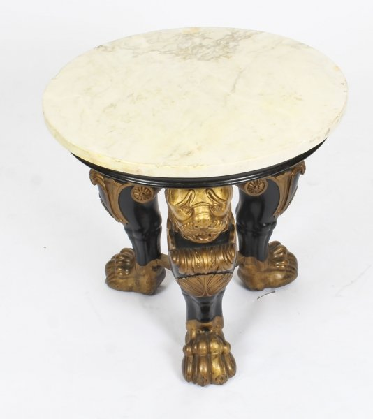 Antique Regency Revival Marble Top Occasional Table 19th Century | Ref. no. 09237 | Regent Antiques