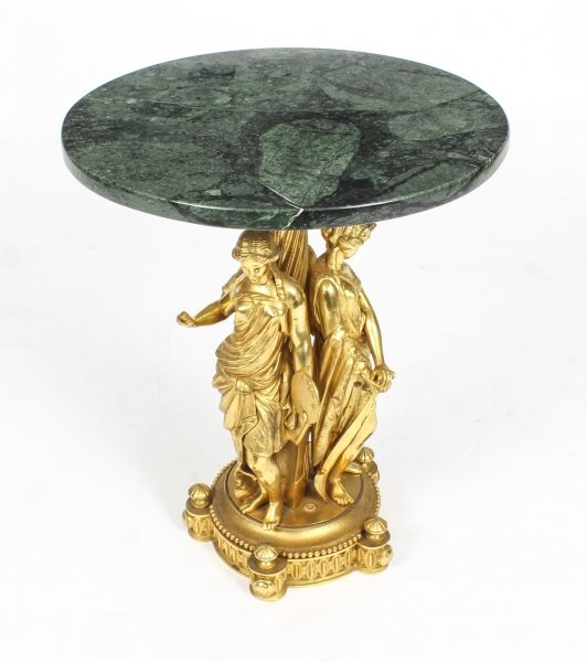 Antique Figural Group Ormolu & Marble Occasional Table 19th Century | Ref. no. 09340 | Regent Antiques