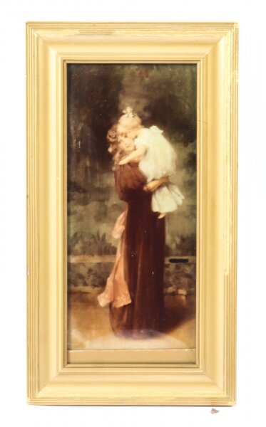 Antique Victorian Crystoleum Picture of a Mother and Child Painting 19th C | Ref. no. 09372c | Regent Antiques