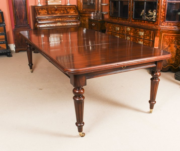 Antique 8ft Victorian Extending Dining  Table C1870 | Ref. no. 09373 | Regent Antiques