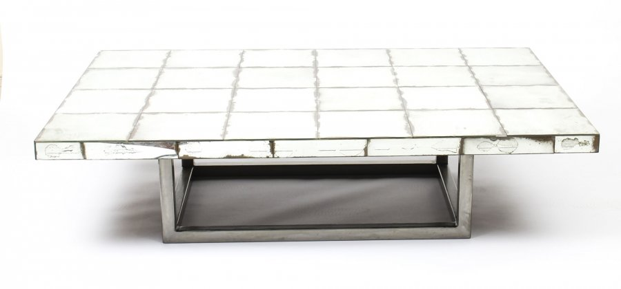 Vintage Mid Century Modernist Mirrored Coffee Table Mid20th C | Ref. no. 09463 | Regent Antiques