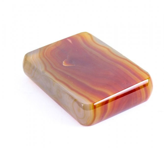 Antique Agate Rectangular Desk PaperWeight C1880 19th Century | Ref. no. 09493a | Regent Antiques