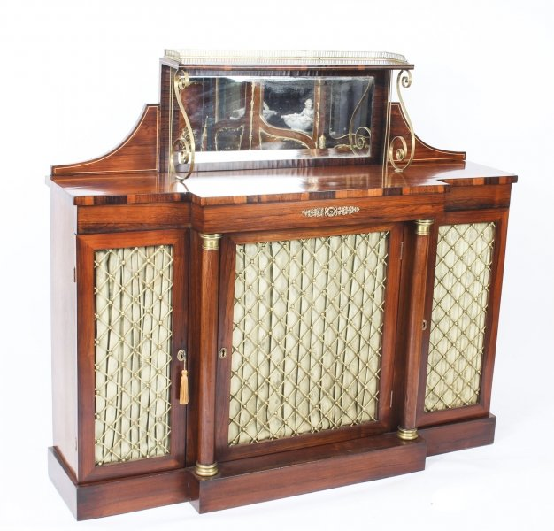 Antique Regency Gonçalo Alves Chiffonier Sideboard C1820 19th C | Ref. no. 09621 | Regent Antiques