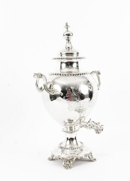 Antique English Victorian Silver Plated Samovar c.1860 | Ref. no. 09628 | Regent Antiques