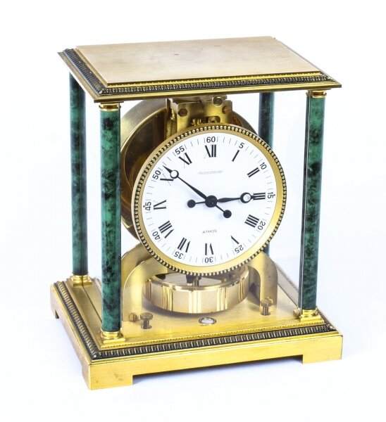 Vintage Atmos Vendome Jaeger le Coultre Mantle Clock Box & Papers 20th C | Ref. no. 09673 | Regent Antiques