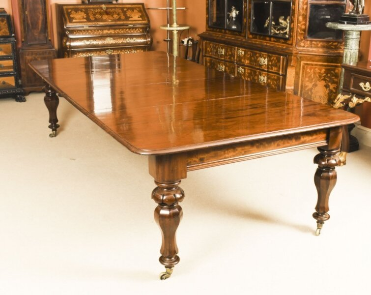 Antique 9ft William IV Mahogany Extending Dining Table C1830  19th C | Ref. no. 09807 | Regent Antiques