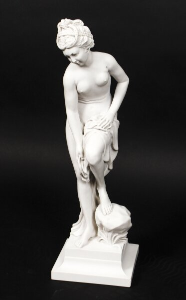 Beautifully Sculpted Composite Marble Sculpture Classical Maiden Late 20th C | Ref. no. 09816c | Regent Antiques