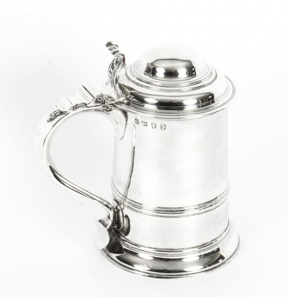 Antique English George III Silver Tankard Thomas Whipham & Charles Wright 1759 | Ref. no. 09817 | Regent Antiques
