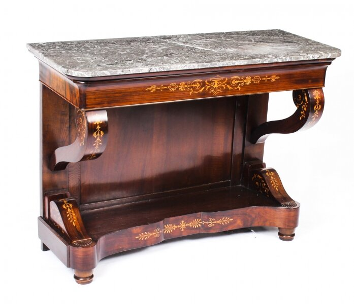 Antique Charles X Period Tigerwood Console Table c.1830  19th C | Ref. no. 09920 | Regent Antiques