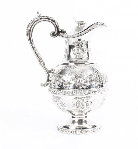 Antique Victorian Silver Plate Claret Jug by Martin Hall C 1880 19th Century | Ref. no. 09930 | Regent Antiques