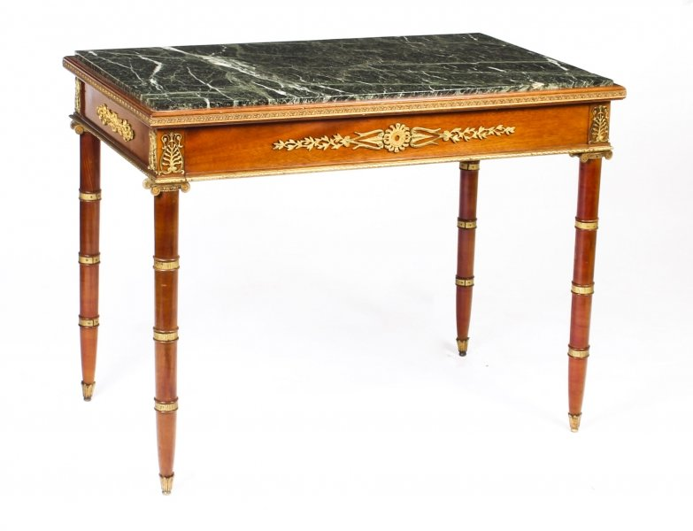 Antique French Empire Revival Marble Top Ormolu Mounted Centre Table 19th C | Ref. no. A1004 | Regent Antiques