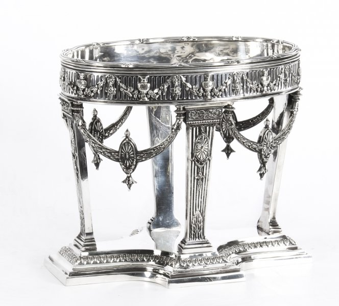 Antique Victorian Silver-plate Centrepiece by Horace Woodward and Co. 1876 | Ref. no. A1076 | Regent Antiques