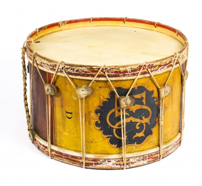 Antique Victorian Large Military Band Drum by Hawkes & Son Ca 1892 19th C | Ref. no. A1079 | Regent Antiques