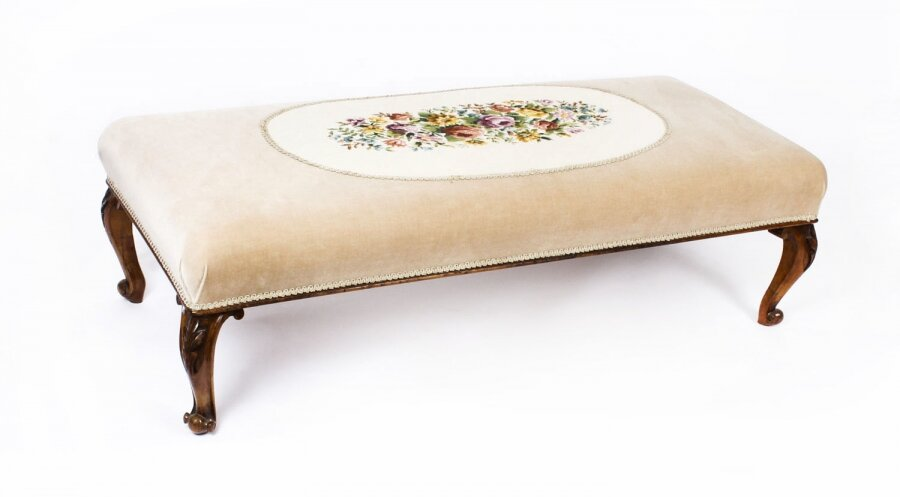 Antique large Stool Ottoman Coffee table  19th Century 148x64cms | Ref. no. A1145 | Regent Antiques