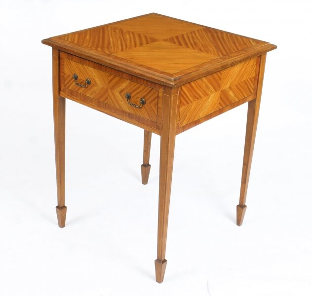 Antique  Victorian Satinwood Occasional Table 19th Century | Ref. no. A1360 | Regent Antiques