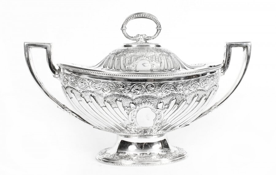 Antique Victorian Silver Plated Tureen Mappin Bros c 1860 19th Century | Ref. no. A1378 | Regent Antiques